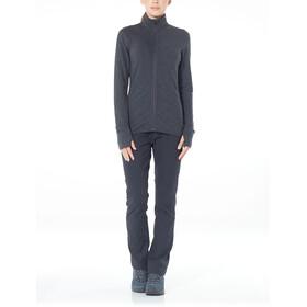 Icebreaker Descender LS Zip Jacket Women Jet Heather/Prism